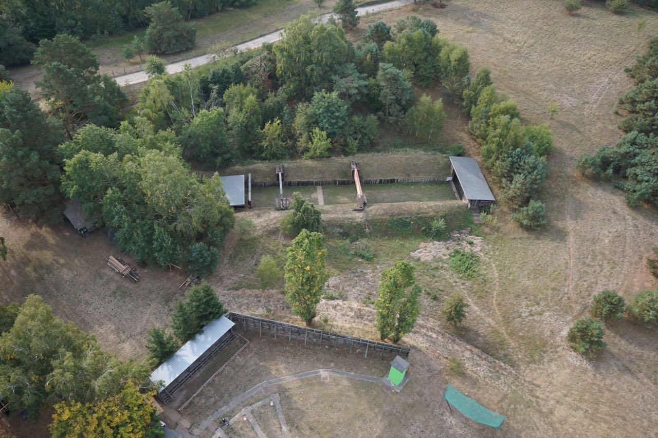 Schützenverein-Parsteinwerder-50-m-Stand Schießstand
