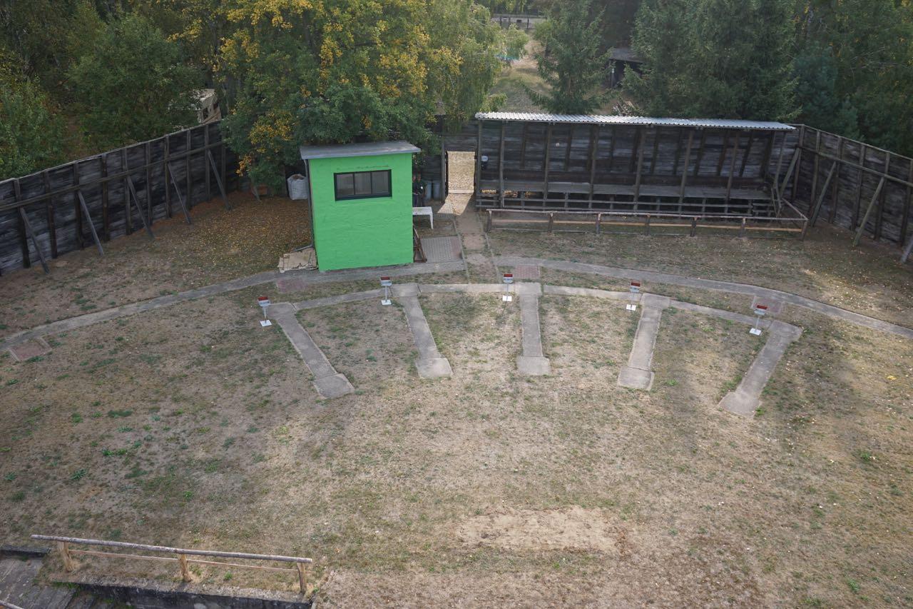Schützenverein-Parsteinwerder-Trap-Stand-Überflug Schießstand