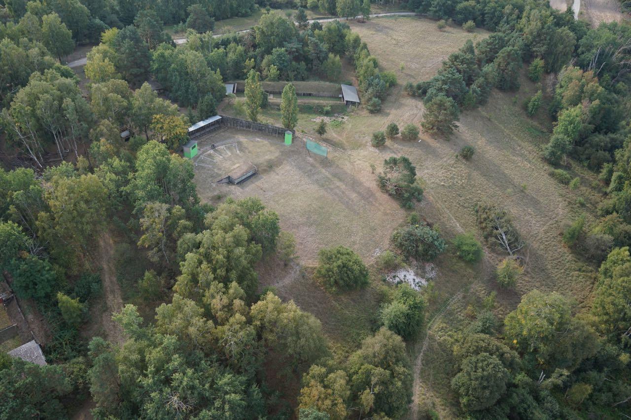 Schützenverein-Parsteinwerder-Überflug-Trap-Stand Schießstand